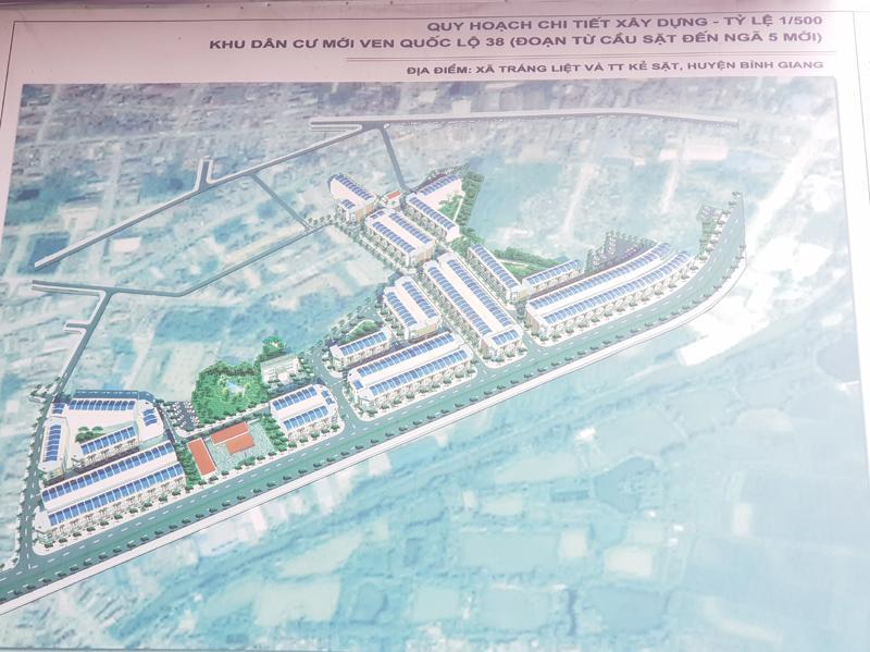 Bình Giang (Hải Dương): Làm rõ vướng mắc trong đền bù giải phóng mặt bằng tại dự án khu dân cư mới ven QL38