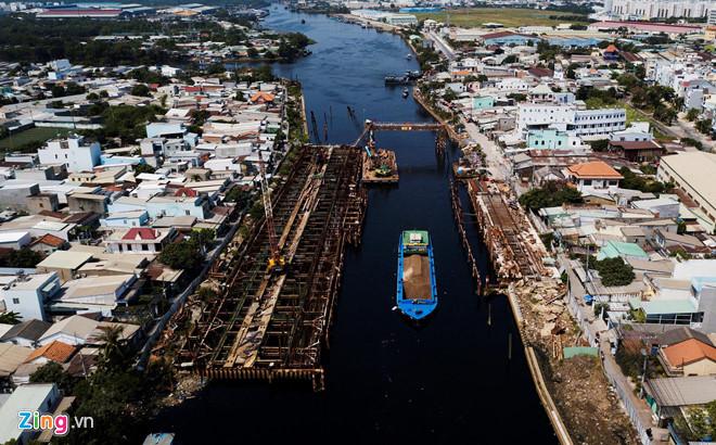 Dự án chống ngập 10.000 tỷ đồng ở Sài Gòn có nguy cơ trễ hẹn