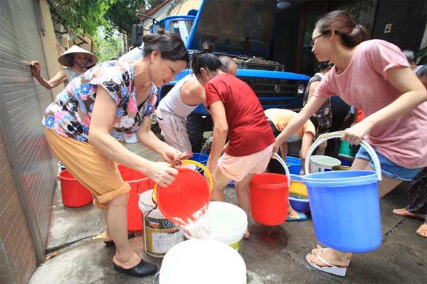 Lượng nước đã trở lại bình thường, Hà Nội không lo thiếu nước