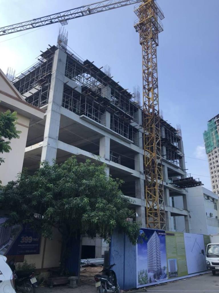 Thái Nguyên: Thanh tra Cty CP Đầu tư và Xây dựng Đại Nam xây dựng công trình chung cư không phép