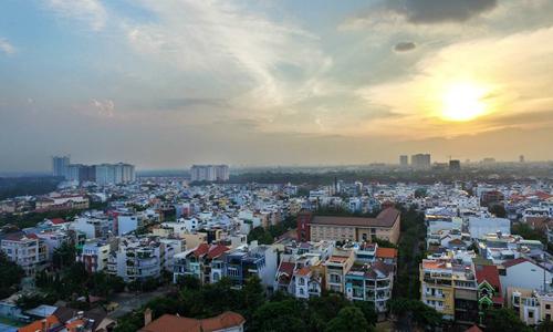 Giá nhà phố ven Sài Gòn tăng trên 110%