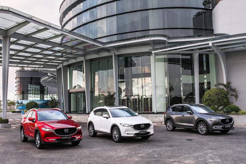 Mẫu xe SUV 5 chỗ Mazda CX-5 mới - Sản phẩm thế hệ 6.5 của Mazda chính thức ra mắt tại Việt Nam