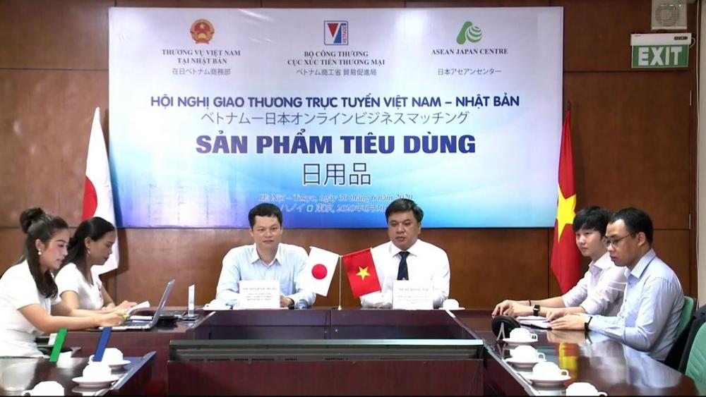 Lần đầu kết nối trực tuyến doanh nghiệp Việt Nam - Nhật Bản trong lĩnh vực hàng tiêu dùng