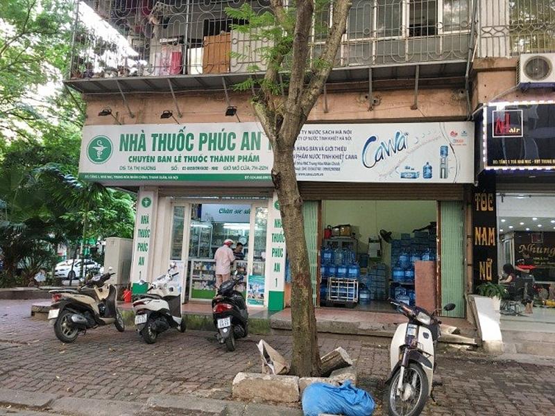 van ton tai nhieu co so kinh doanh tai tang 1 nha tai dinh cu