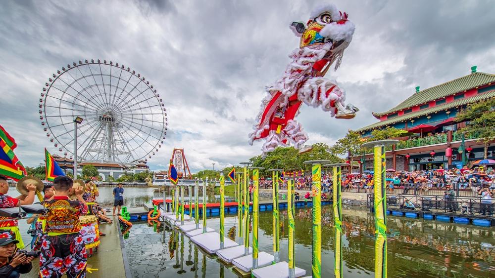 Đà Nẵng: Công viên châu Á chính thức mở cửa đón khách