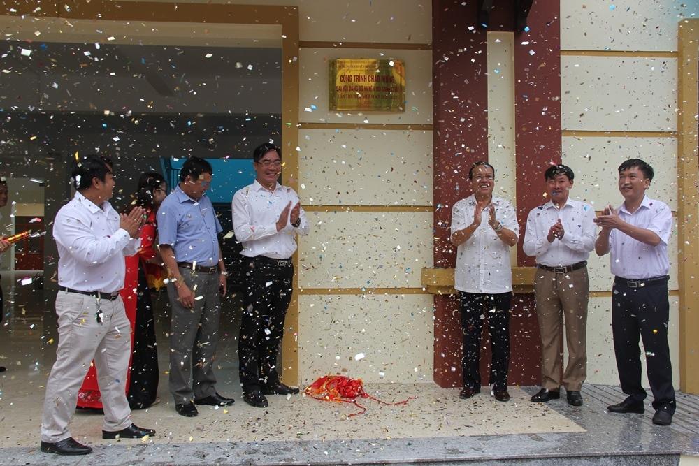 Mù Cang Chải (Yên Bái): Khánh thành các công trình chào mừng Đại hội Đảng bộ huyện lần thứ XIX