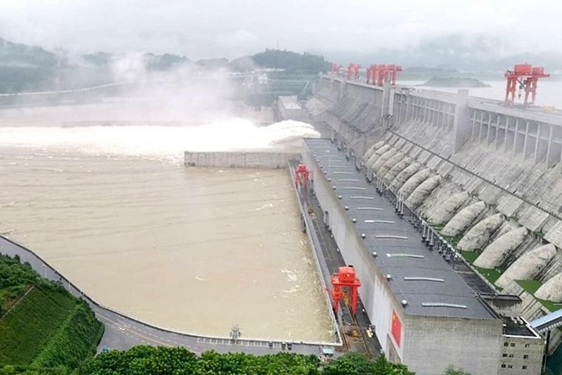 Lũ Lụt Trung Quốc 14 Người Chết 1 Ngay đập Tam Hiệp Vượt đỉnh 15m Thế Giới