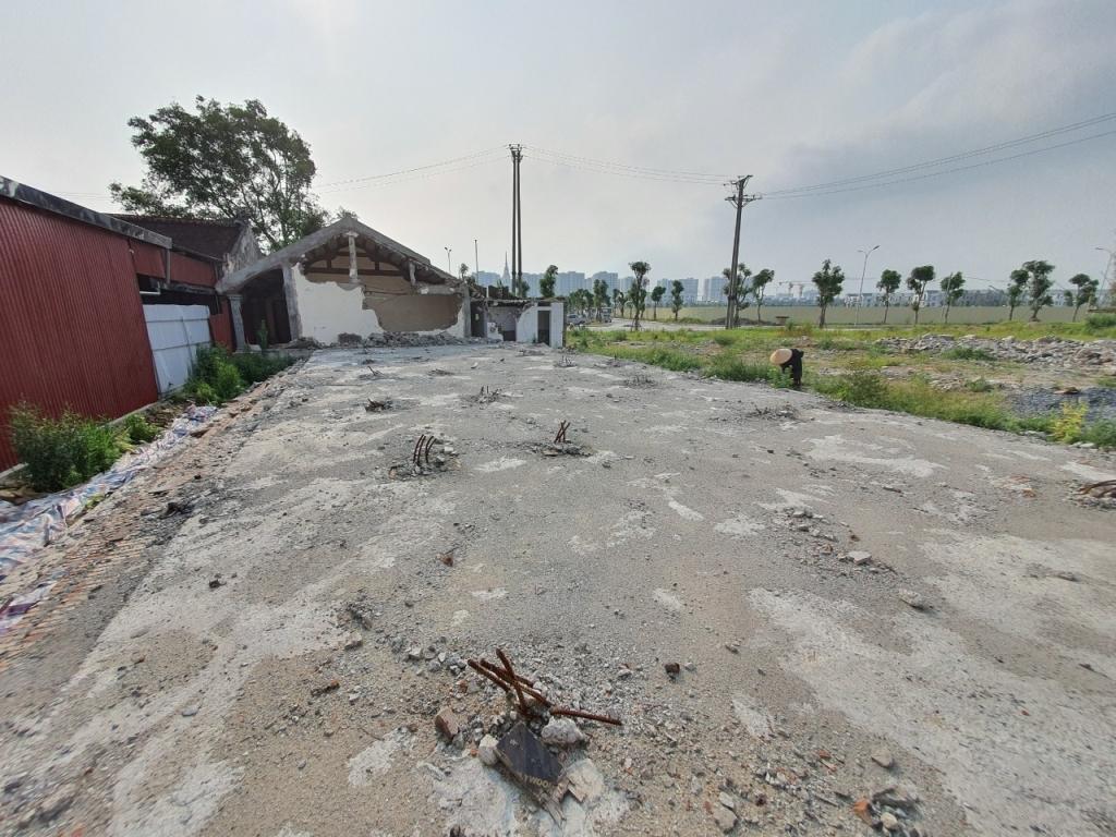 Gia Lâm (Hà Nội): Chính quyền thừa nhận trách nhiệm trong việc sửa chữa nhà Mẫu chùa Kiêu Kỵ