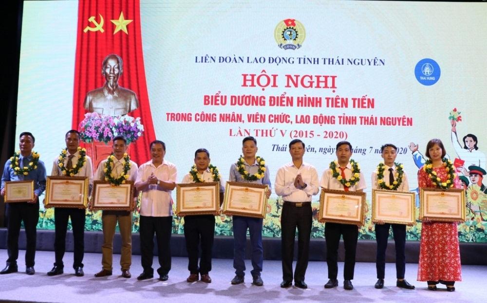 Thái Nguyên: Vinh danh 159 tập thể, cá nhân công nhân, viên chức, lao động