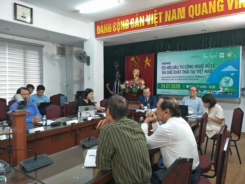 Cơ hội đầu tư công nghệ xử lý, tái chế chất thải tại Việt Nam