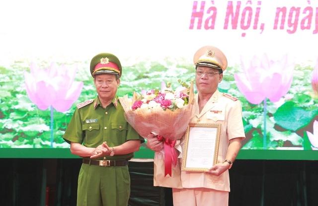 Bổ nhiệm Thiếu tướng Nguyễn Hải Trung giữ chức vụ Giám đốc Công an Thành phố Hà Nội