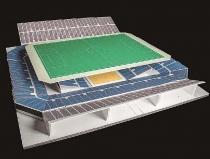 Nhật Bản đề xuất sân bóng đá đa mục đích với hệ thống nâng mặt đất