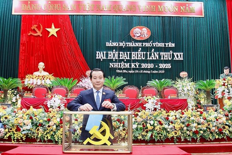 vinh phuc dai hoi dang bo thanh pho vinh yen thanh cong tot dep