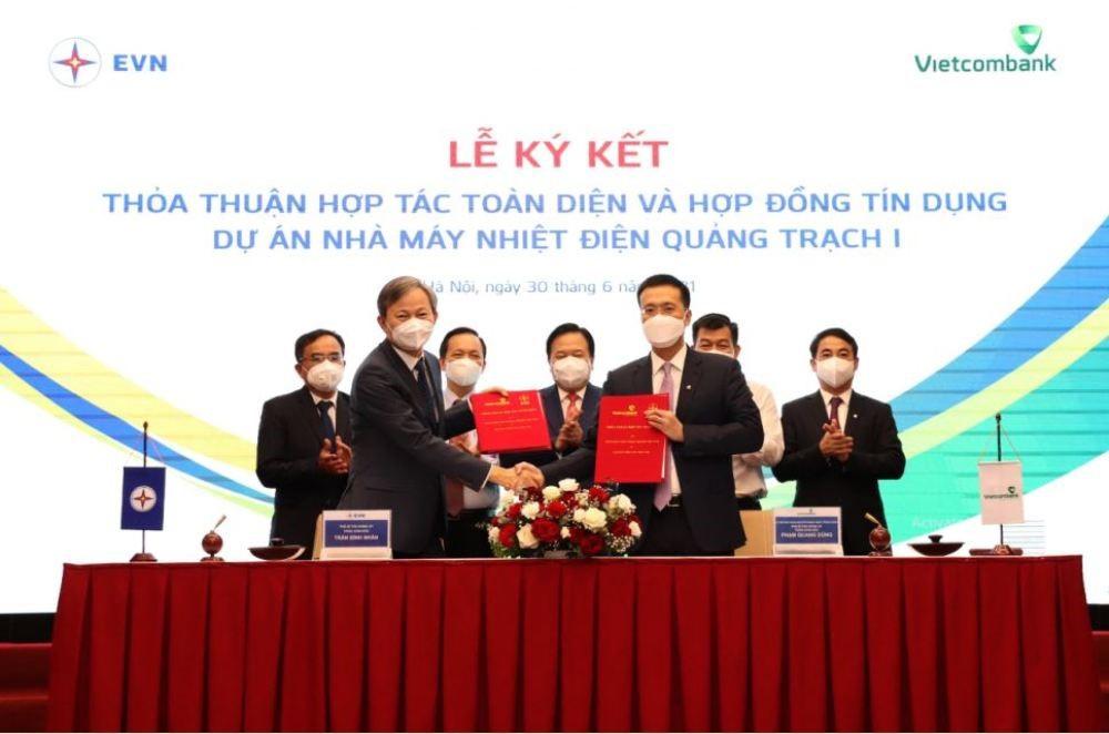 Ký kết hợp đồng tín dụng tài trợ dự án Nhà máy nhiệt điện Quảng Trạch I