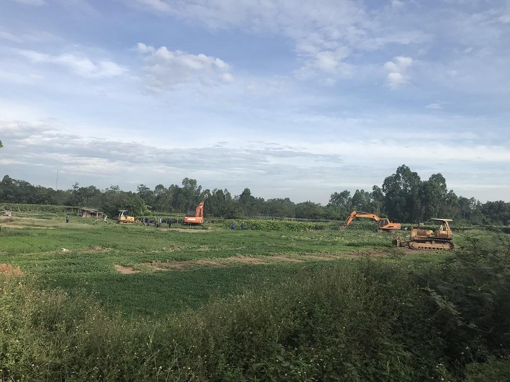 Vĩnh Yên (Vĩnh Phúc): Cưỡng chế thu hồi đất thực hiện dự án Khu đất dịch vụ phường Tích Sơn