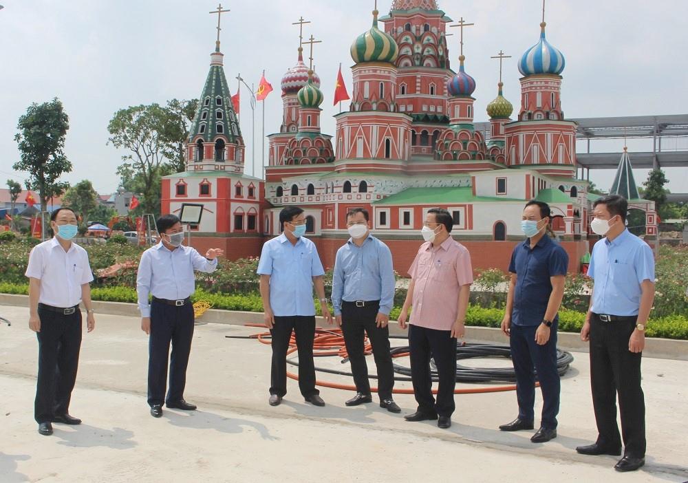Bộ Xây dựng khảo sát thực tế phát triển đô thị tại thị xã Phổ Yên