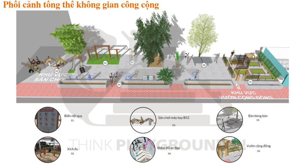 Hà Nội: Cải tạo không gian công cộng tại phường Ngọc Hà