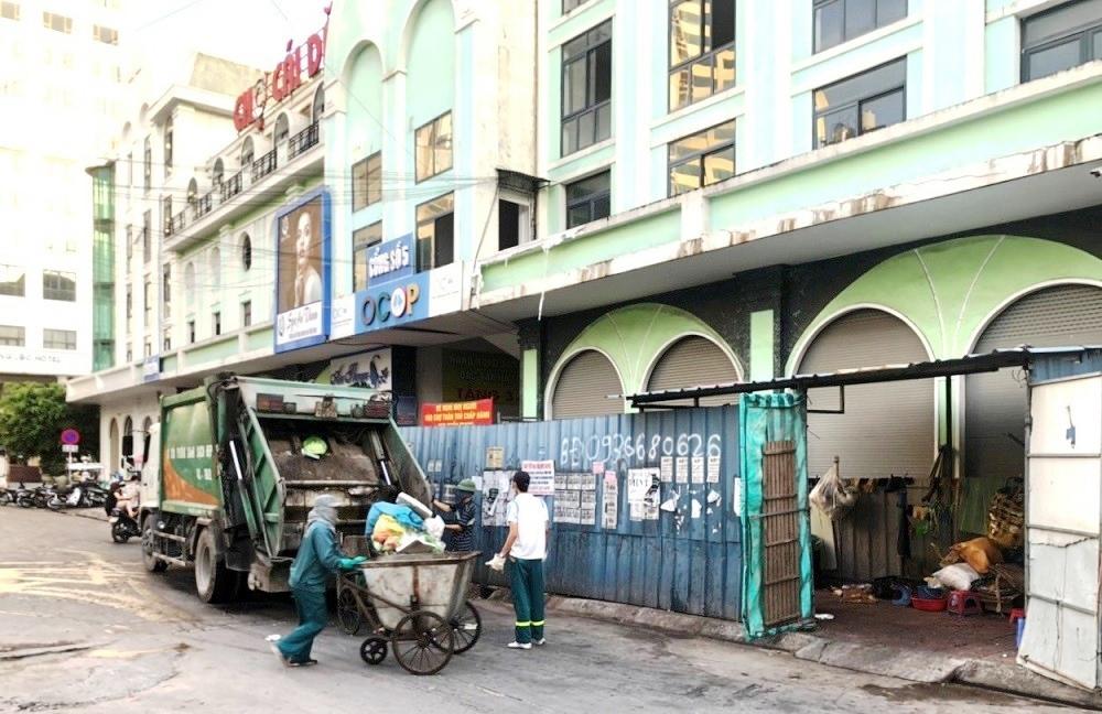 Hạ Long (Quảng Ninh): Bãi rác chợ Cái Dăm tập kết trái phép gây ô nhiễm môi trường