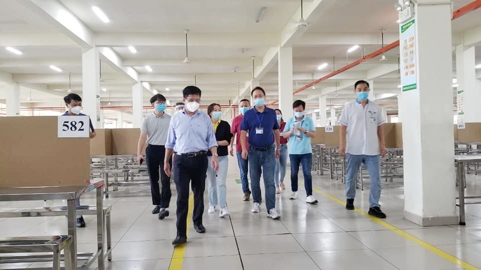 Thành phố Hồ Chí Minh: Siết chặt các biện pháp phòng, chống dịch tại doanh nghiệp