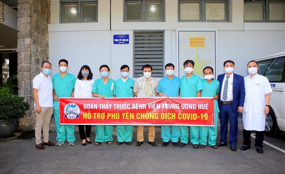 Thừa Thiên – Huế: Sẵn sàng điều động 120 bác sỹ hỗ trợ công tác phòng chống dịch cho Thành phố Hồ Chí Minh