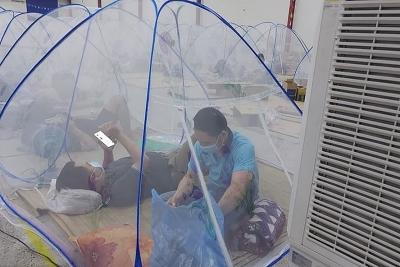 Cận cảnh nơi ăn nghỉ tại chỗ của công nhân ở Đồng Nai