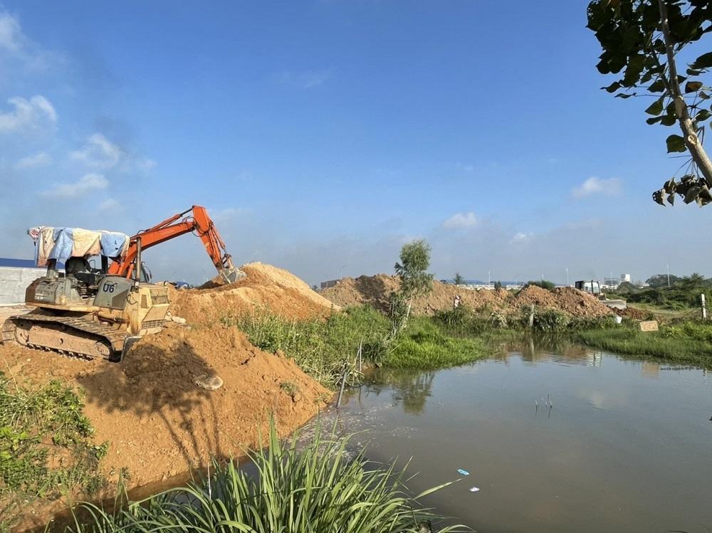 Vĩnh Tường (Vĩnh Phúc): Giải phóng mặt bằng Dự án Khu chợ đầu mối nông sản, thực phẩm địa phận xã Lũng Hòa