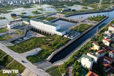 Toàn cảnh đại dự án chống ngập nghìn tỷ ở phía Tây Hà Nội