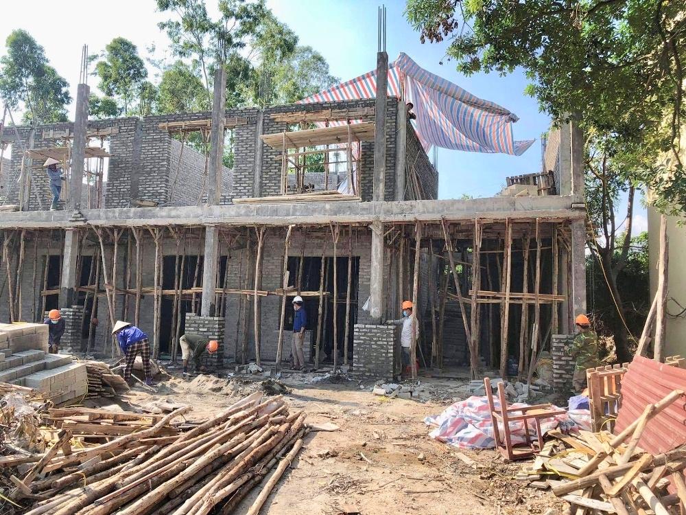 Tam Đảo (Vĩnh Phúc): Nhiều biện pháp phòng chống dịch Covid-19 trên các dự án công trình xây dựng