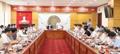 Chủ tịch UBND tỉnh Thái Nguyên chỉ đạo thực hiện nghiêm túc Kết luận của Thanh tra Chính phủ