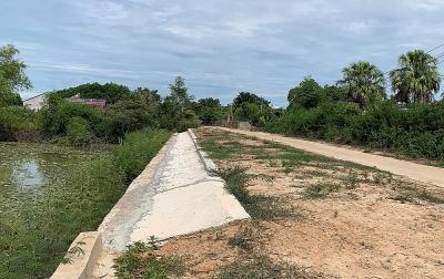 Nông Cống (Thanh Hóa): Đập Đồng Chanh chưa nghiệm thu đã hỏng
