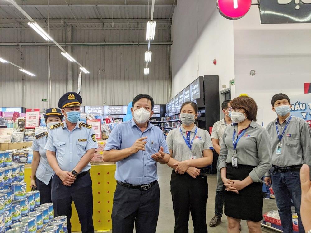 Hải Phòng: Các siêu thị và trung tâm thương mại kiểm soát quy trình nhập hàng, hạn chế tối đa lây lan dịch bệnh