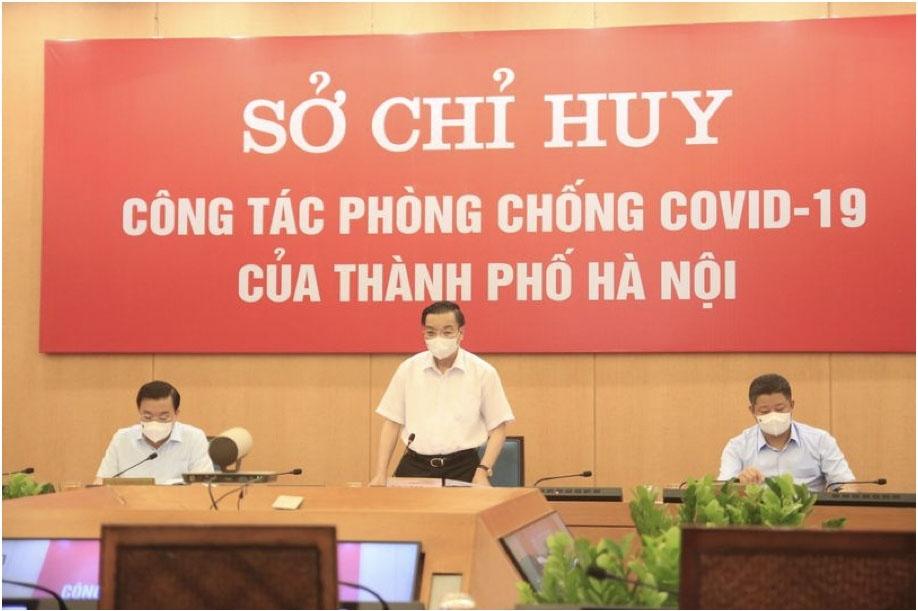"""Hà Nội: Yêu cầu người dân không ra khỏi nhà nếu không vì mục đích thiết yếu, xử phạt nghiêm vi phạm để tận dụng """"thời gian vàng"""""""