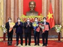 nghi quyet phe chuan de nghi bo nhiem pho thu tuong chinh phu
