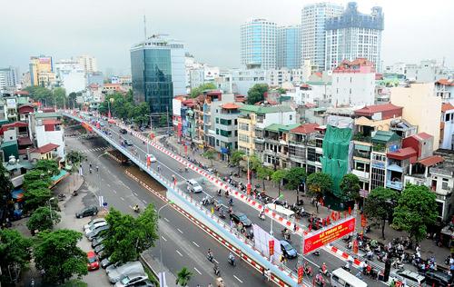 Một năm cầu vượt Đại Cồ Việt - Trần Khát Chân
