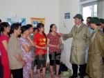 Cam kết xây nhà cho 94 hộ dân bị ngập bùn xỉ thải ở Mông Dương