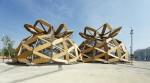 Cấu trúc mái vòm đôi độc đáo tại triển lãm Milano Expo 2015