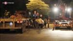 Người Sài Gòn bất an với xe container chở thép cuộn