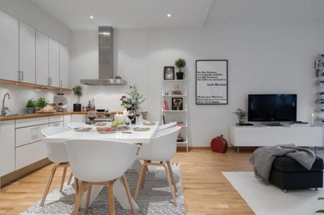 Nội thất cho căn hộ chung cư 54m2