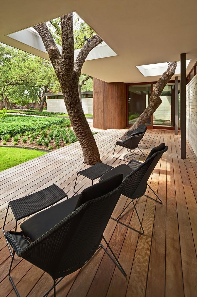 """235500baoxaydung image009 CÙng nhìn qua những thiết kế thông minh """"làm bạn"""" với cây xanh"""