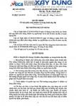 Bộ trưởng Trịnh Đình Dũng ký Quyết định phân công nhiệm vụ lãnh đạo Bộ