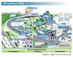 """""""Ngó nghiêng"""" các thành phố thông minh Hàn Quốc"""