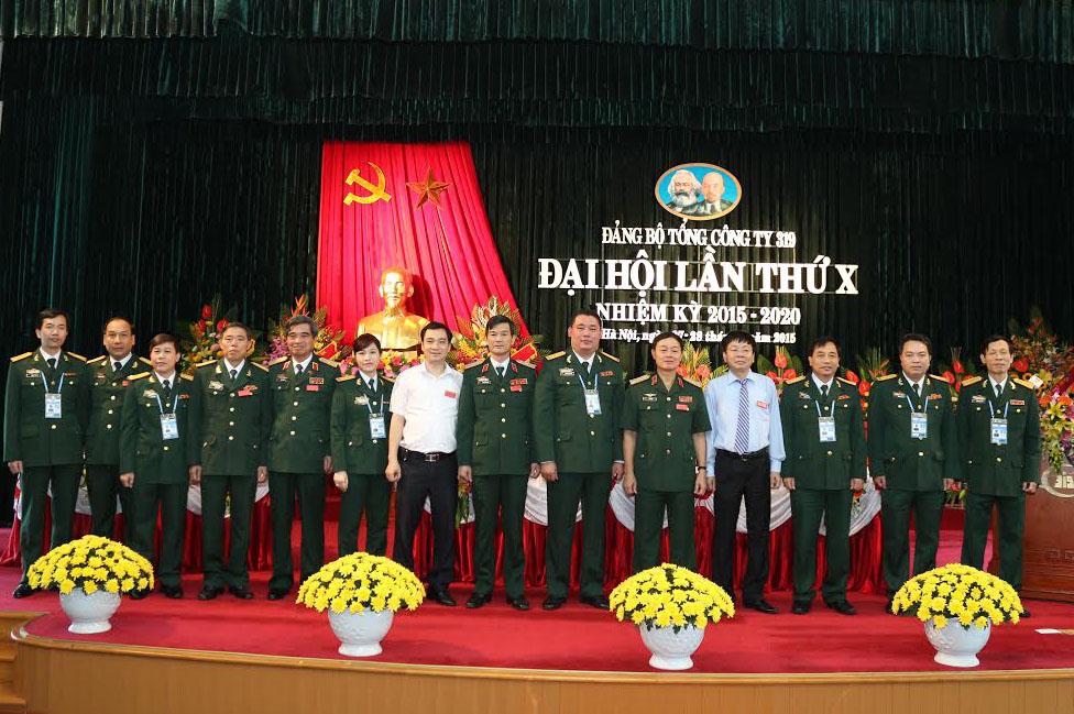 Đại hội Đảng bộ lần thứ X Đảng bộ Tổng công ty 319 thành công tốt đẹp |  Thời sự