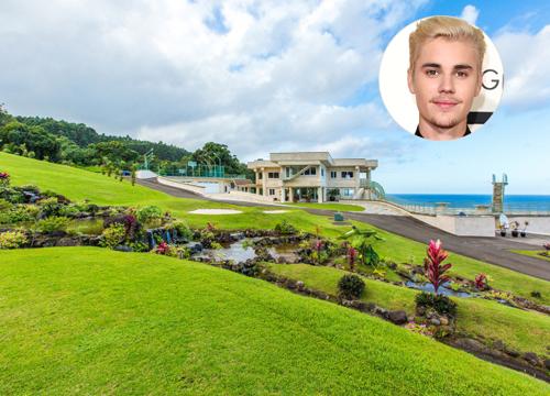 Bên trong biệt thự nghỉ dưỡng 26 triệu USD Justin Bieber thuê