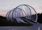 Cây cầu lấy cảm hứng từ biểu tượng của thế vận hội