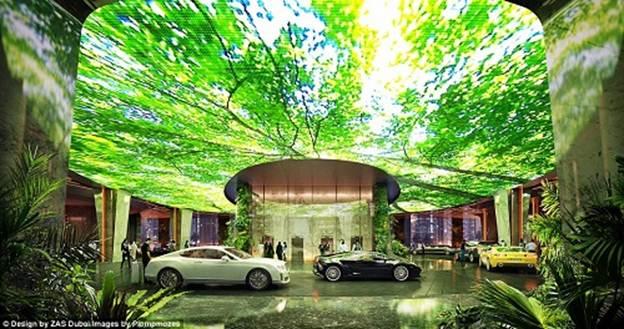 201244baoxaydung image003 Chiêm ngưỡng vẻ đẹp cỉa khách sạn rừng mưa nhân tạo đầu tiên trên thế giới