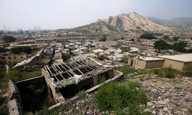 Kết quả hình ảnh cho Thảm họa môi trường do khai thác than ở Trung Quốc