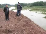 Vụ đổ đất lấn sông Cầu: UBND TP Thái Nguyên đề nghị cưỡng chế ngay