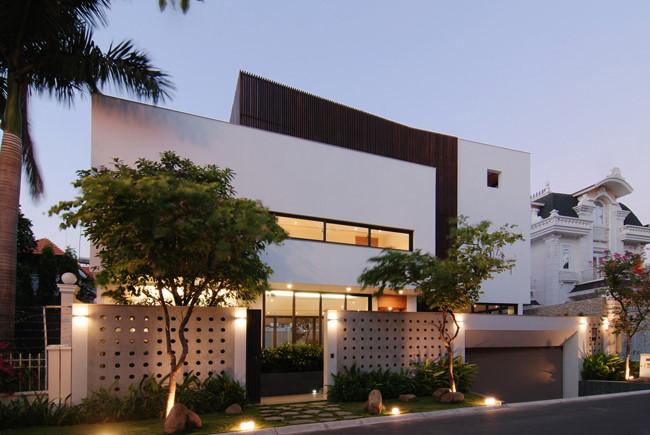 100543baoxaydung image003 - Ngôi nhà 3 tầng đẹp như khách sạn 5 sao giữa Sài Gòn