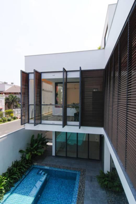 100543baoxaydung image004 - Ngôi nhà 3 tầng đẹp như khách sạn 5 sao giữa Sài Gòn
