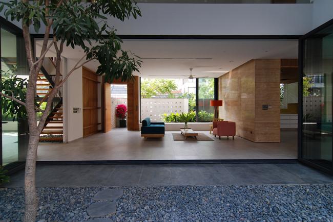 100544baoxaydung image006 - Ngôi nhà 3 tầng đẹp như khách sạn 5 sao giữa Sài Gòn